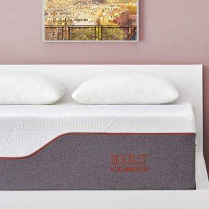 Molblly 14 inch Gel Memory Foam Bed Mattress, Full Size