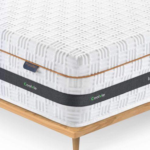 Coolvie queen 10-inch hybrid innerspring mattress