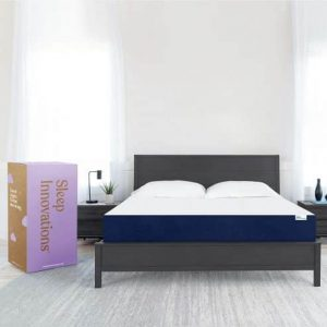 Sleep Innovations Marley Full 10 Inch Cooling Gel Memory Foam Mattress in a Box