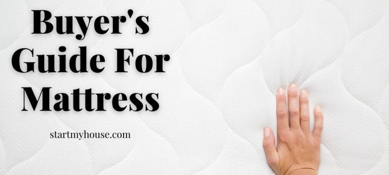 Buyer's Guide For Mattress