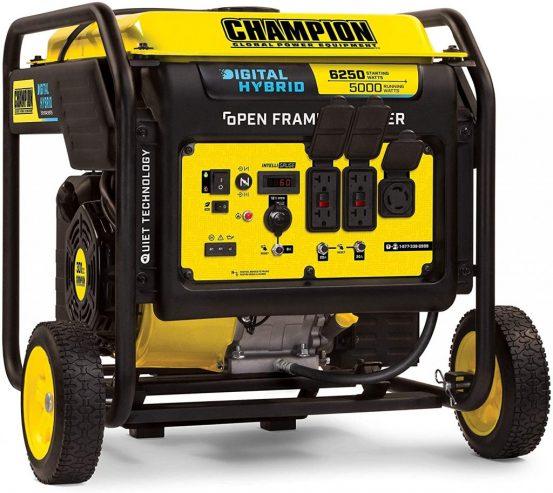 Champion 100519 6250-Watt Inverter Generator