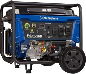 Westinghouse WGen7500 Portable Generator with Remote Electric Start