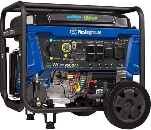 Westinghouse WGen9500DF 9500 Portable Generator