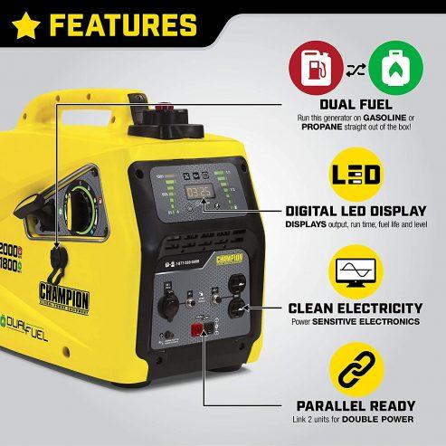 Champion Power Equipment 100402 Inverter Generator