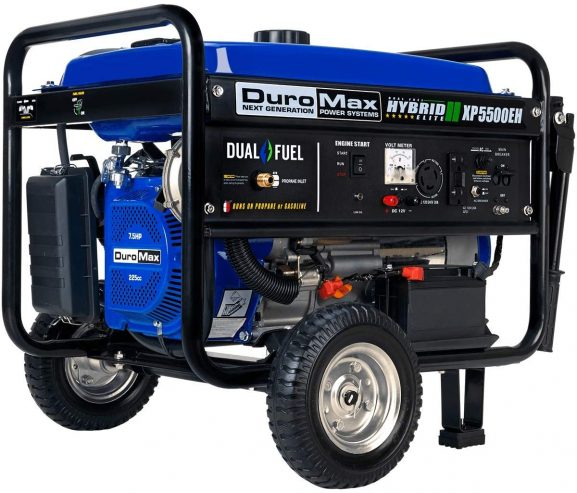 DuroMax XP5500EH Fuel Portable Generator