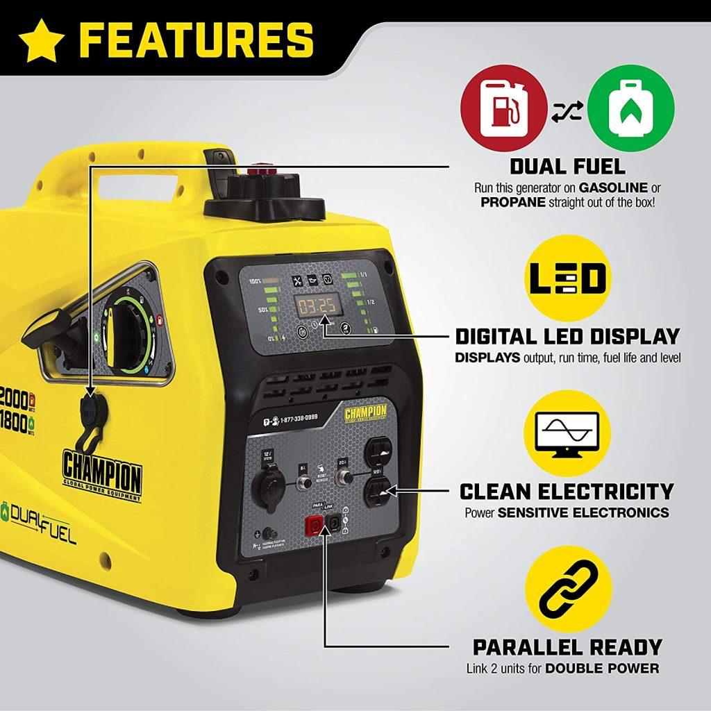 Champion 100402 2000-Watt Inverter Generator