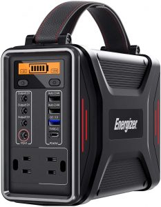 Energizer Portable Power Station with PD 45W USB-C Fast Charging Solar Generator