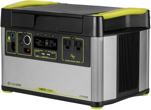 Yeti 1500X Portable Solar Generator for Solar Panels