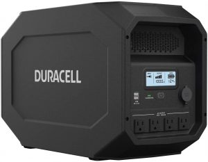 Duracell Power Source Quiet Gasless Portable Power and Solar Generator