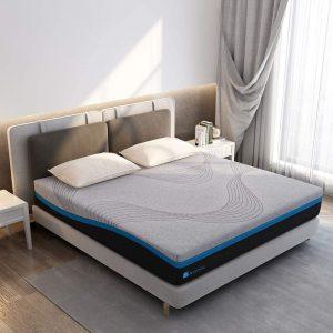 Avenco Grey Memory Foam 10 Inch Full mattress in a box