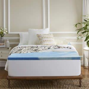 Sleep Innovations 3-inch Gel Memory Foam Mattress Topper