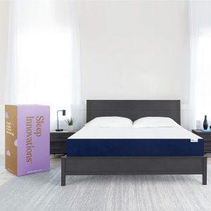 Sleep Innovations Marley Queen 10 Inch Cooling Gel Memory Foam Mattress in a Box
