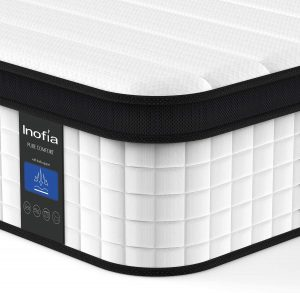 Inofia 12 Inch Hybrid Innerspring Double Mattress in a Box